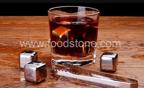 Stainless Steel Ice Cubes (4)