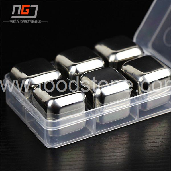 Stainless Steel Ice Cubes (28)