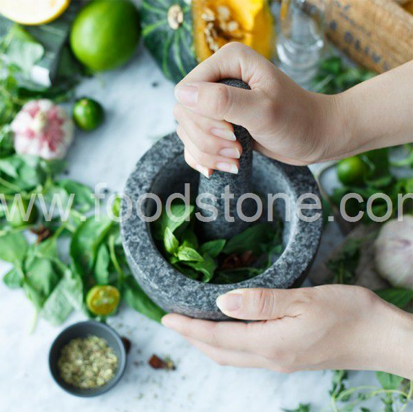 Granite Mortar and Pestle (35)