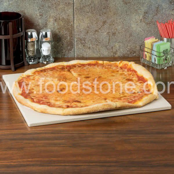 Rectangular Ceramic Pizza Stone