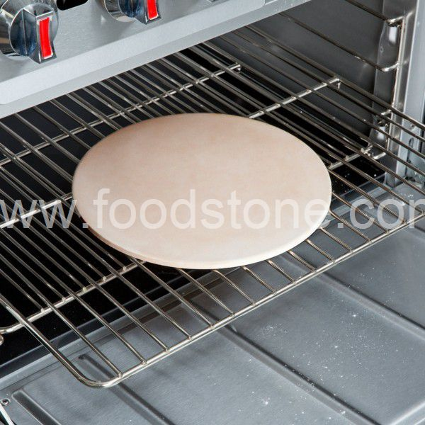 Round Ceramic Pizza Stone (3)